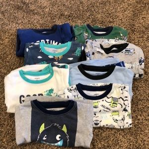 Carter's 2T boys pajama sets